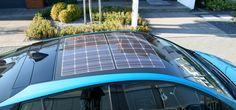 Der Toyota Prius Plug-In kann sich per Solar-Dach aufladen