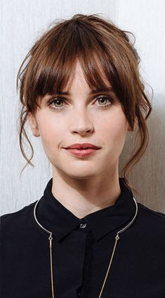 Felicity Jones (Jyn Erso, Rogue One: A Star Wars Story. Jane Hawking, The Theory of Everything.)