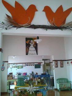 Pássaros na parede