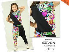 SEVEN - STEP costume danza saggio