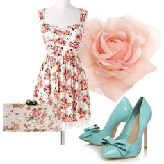 A Summer's Day, created by ladylilium on Polyvore
