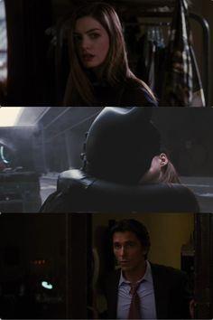 TDKR Batman and Catwoman