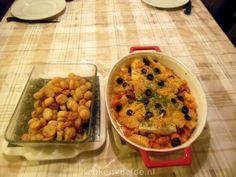 Ovenschotel met wortel en kabeljauw van Lya