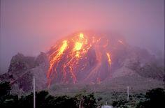 Soufrière Hills Volcano, Montserrat, West Indies