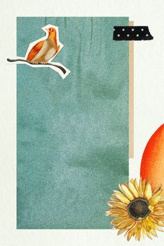 Download premium psd / image of Vintage pastel collage style banner mockup by katie about collage, sunflower, washi tape, torn paper, and tape 2094741
