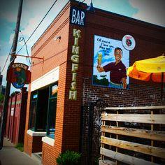 Kingfish: great patio and fun live music