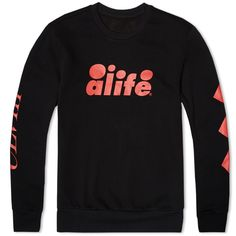 Working alongside well respected New York streetwear imprint Alife, legendary German sportswear manufacturers  Puma have created this limited edition capsule of footwear and apparel. A boldly styled athletic design, the Puma x Alife ARC Crew Neck Sweat is cut from a fleece back jersey and features a variety of graphic print detailing.  Cotton Blend Fleeceback Jersey Graphic Print Detailing Ribbed Collar, Cuffs and Hem