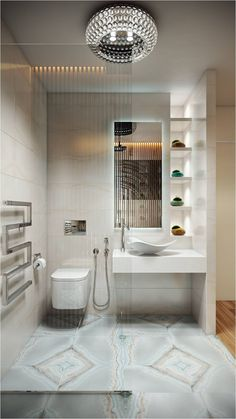 Conteporary Style Bathroom By Alyona Andronikova Interior Design Course Student In European