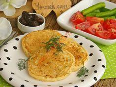 Kahvaltılık Peynirli Pofuduk Pankek Resmi