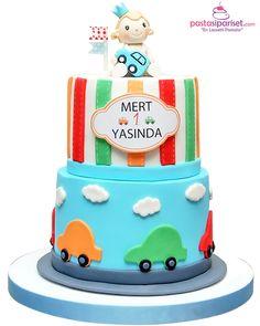 1 Yaş Pastası Birthday Cake, Pasta, Desserts, Food, Tailgate Desserts, Deserts, Birthday Cakes, Essen, Postres