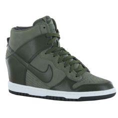 Nike Dunk Sky High Green Women Trainers | eBay