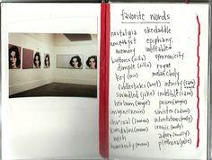 The Inspiration Journals of Rachel Duarte