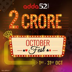 #Adda52 to Giveaway INR 2 Crore in October