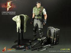 ALL CGI @3D SKUPT | Hot Toys- Bio Hazard 5 Chris Redfield S.T.A.R.S.