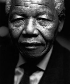 Nelson Rolihlahla Mandela, 18 July 1918 – 5 December 2013 / photographed in 1994 by photographer/director Sander Veeneman Beautiful People, Beautiful Pictures, Inspirational Movies, Nelson Mandela, Portraits, Great Movies, Monochrome, December 2013, Absolutely Stunning