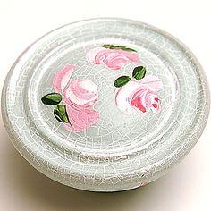 Floral Mint Button Knob from @PoshTots #poshtots #floral #mint #decor
