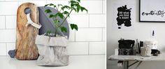 Bolsa de papel lavable Paper Bag Grey de Uashmama para utilizarla como maceta, frutero, bolso, etc. #paperBag #Uashmama #BolsaDePapel #maceta #macetero #frutero #bolso #almacenaje #decoration