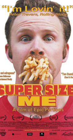 Super Size Me (2004)~This is the best part of the day, when I get to be fat, on the bed, with my quart of Coke.