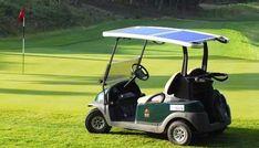 World's First Solar Powered Golf Cart Fleet