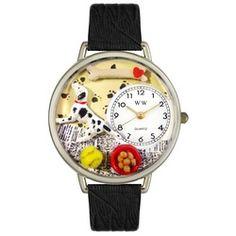 Dalmatian Black Skin Leather And Silvertone Watch #U0130031 - http://www.artistic-watches.com/2013/02/10/dalmatian-black-skin-leather-and-silvertone-watch-u0130031/