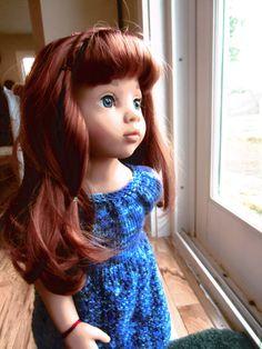Gotz Happy Kidz Clara 2016 Doll Patterns, Knitting Patterns, American Girl, Doll Clothes, Dolls, Disney Princess, Image, Collection, Happy