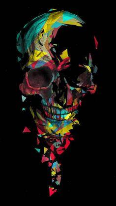 Colored skull wallpaper by Skate_boY - 68 - Free on ZEDGE™ Skull Wallpaper Iphone, Graffiti Wallpaper, Dark Wallpaper, Galaxy Wallpaper, Graffiti Art, Hipster Wallpaper, Wallpapers Games, Joker Wallpapers, Gas Mask Art