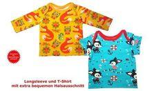 Babyshirts langärmlig und kurzärmlig, Schnittmuster & Nähanleitung bei Makerist
