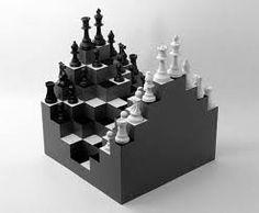 「chess set, manhattan high-rises」の画像検索結果