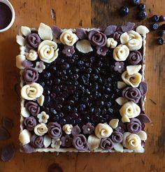 Purple pastry!