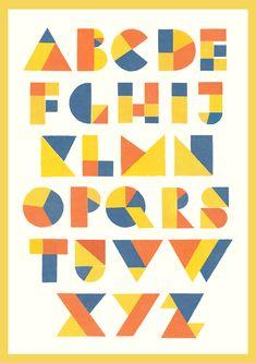 lumiko:  Custom geometric typeface.
