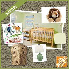 I'm loving this room from The Dream Nursery Sweepstakes! Pin your favorite nursery, then enter to #win prizes from The Home Depot on The Bump Facebook page.