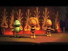 Maya the Bee - Maya Dance French Teaching Resources, Teaching French, Core French, Learn To Fly, School Dances, French Films, Brain Breaks, Learn French, Just Dance