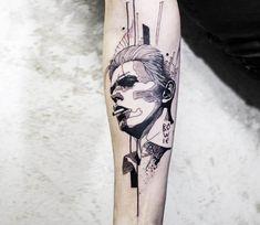 Dawid Bovie tattoo by Koit Tattoo