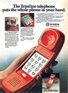 "The ""trimline"" home telephone"