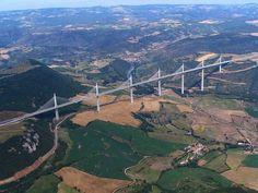 Millau Viaduct, Aveyron, Midi-Pyrénées