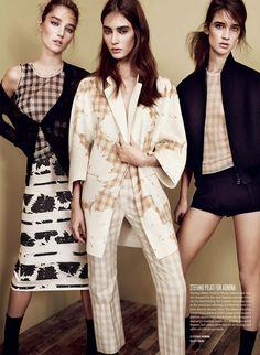 Four Houses Hit Refresh by Benjamin Lennox for V Magazine Spring 2014