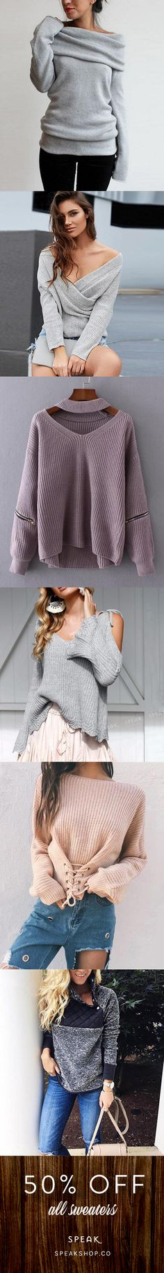 All of these gorgeous sweaters are off (or more) today! Sweatshirts pullovers cardigans wrap sweaters hoodies and so much Cool Outfits, Casual Outfits, Fashion Outfits, Womens Fashion, Fashion Fashion, Casual Shoes, Fall Winter Outfits, Autumn Winter Fashion, Vintage Fashion