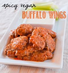 For someone who's never had real chicken wings, I seem to have a little bit of a fixation on vegetarian variations....Continue Reading...
