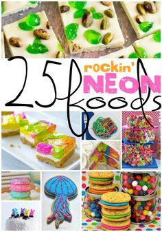 25 Rockin' Neon Food Ideas