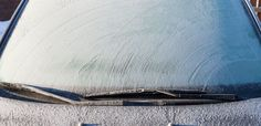 How to quickly defrost your windshield.