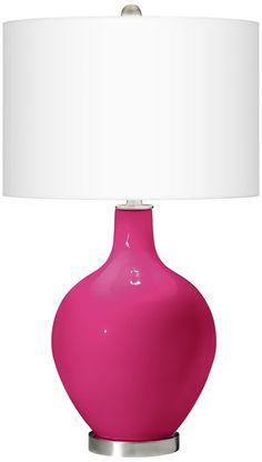 beetroot purple ovo table lamp megu0027s room