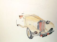 MG Car Rory, in progress