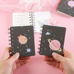 """""""Little Star"""" Cute Pocket Diary Notebook Small Coil Sprial Student Journal Cute Spiral Notebooks, Beautiful Notebooks, Cute Notebooks, Notebook Cover Design, Small Notebook, Diy Notebook, Cute School Stationary, School Stationery, Pocket Diary"""