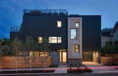 Park Passive #Home by NK #Architects Seattle's First Certified Passive House: Modern Family Home Marrying Luxury and Sustainability