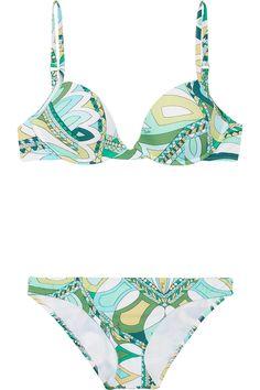 Isfahan printed bikini by Emilio Pucci