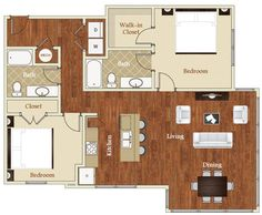 1200 Square Foot One Story Floor Plan 1200 Square Feet 2 Bedrooms 1 Batrooms On 1 Levels