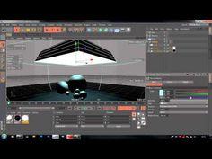 Modelling, Expresso, Rendering & Lighting - Cinema 4D Tutorial - YouTube