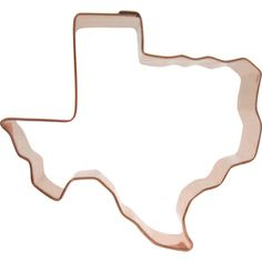 Texas State Shape Cookie Cutter