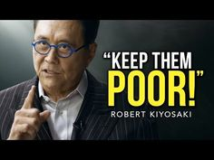 Robert Kiyosaki broke the internet with this life changing speech. This is why the poor stay poor and the rich get richer! Robert Kiyosaki, Rich Dad Poor Dad, Great Speakers, Self Improvement Quotes, Best Speeches, Interview, Knowledge And Wisdom, Think, Daily Inspiration Quotes