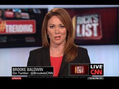 """CNN's Brooke Baldwin Blames VETERANS for Baltimore Riot. Says they return to American and no emotional investment in communities they live in and are """"ready . Baltimore Riots, Brooke Baldwin, Cnn Anchors, O Reilly, News Anchor, Gif Of The Day, Blame, Comebacks, Youtube"""